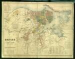 Plano de La Habana de Esteban Pichardo de 1881